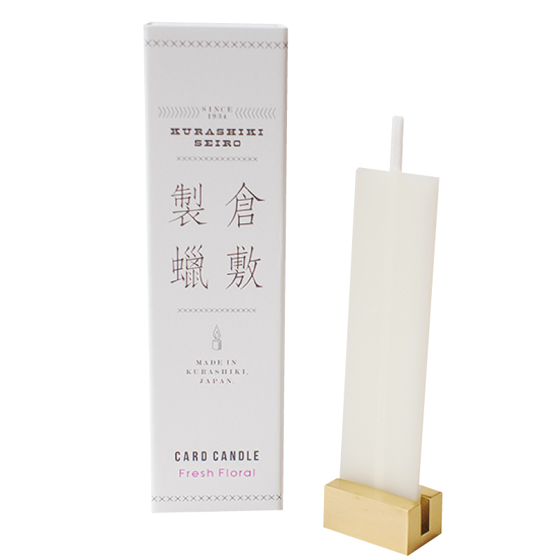 倉敷製蠟 CARD CANDLE(Fresh Floral)