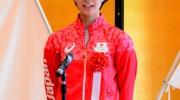 荒木絵里香選手、石井優希選手への倉敷市長特別賞授与式