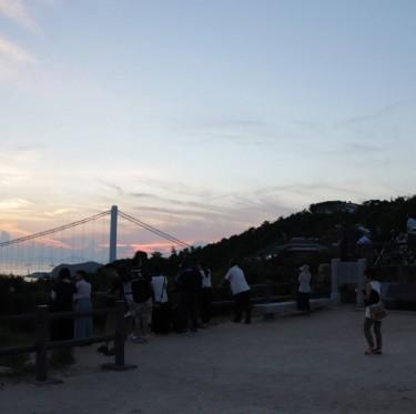瀬戸大橋の夕景 1-3