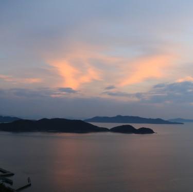 三百山からの夕日 2-2