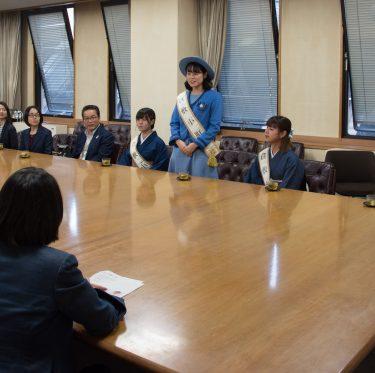 第36代 倉敷小町の市長表敬訪問 3-1