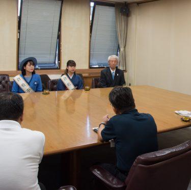 第36代 倉敷小町の市長表敬訪問 3-2