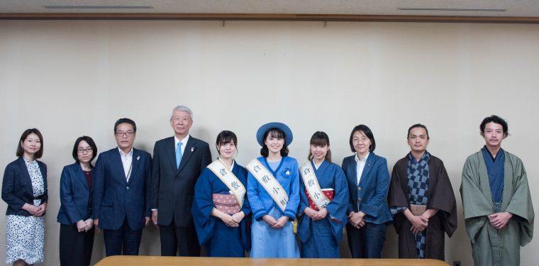 第36代 倉敷小町の市長表敬訪問 1-1