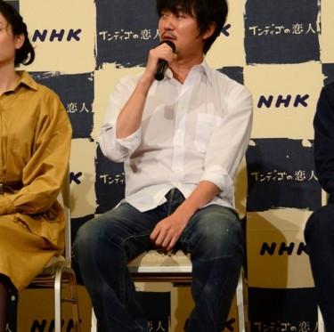 岡山発地域ドラマ「インディゴの恋人」出演者取材会 3-1