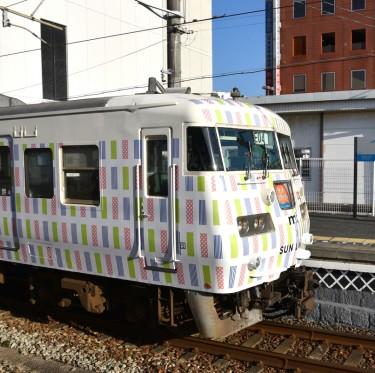 ラッピングトレイン mt×SUNLINER 倉敷駅へ! 3-2