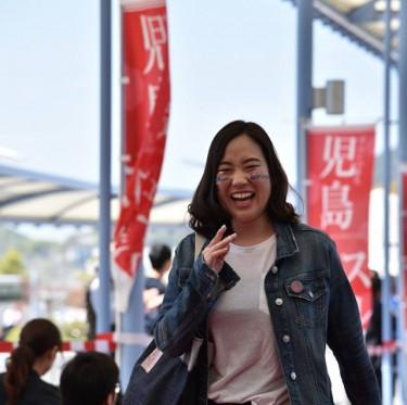JR児島駅ジーンズ装飾第2弾とデニムガールズコレクション 2-3