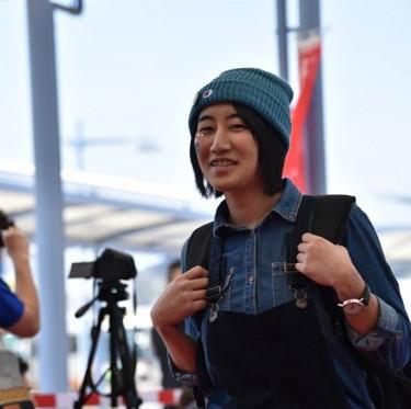 JR児島駅ジーンズ装飾第2弾とデニムガールズコレクション 3-2