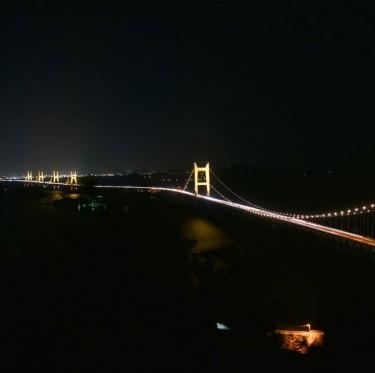 綺麗な夜景はいかが! 瀬戸大橋ライトアップ 1-2