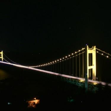 綺麗な夜景はいかが! 瀬戸大橋ライトアップ 2-3