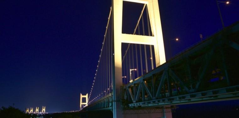 綺麗な夜景はいかが! 瀬戸大橋ライトアップ 2-1