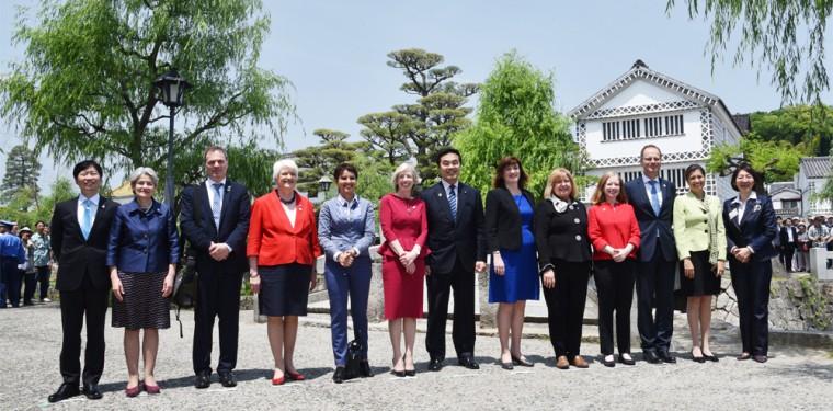 G7倉敷教育大臣会合 「倉敷宣言」を採択 1-1