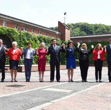 G7倉敷教育大臣会合 「倉敷宣言」を採択 1-2