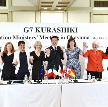 G7倉敷教育大臣会合 「倉敷宣言」を採択 2-2