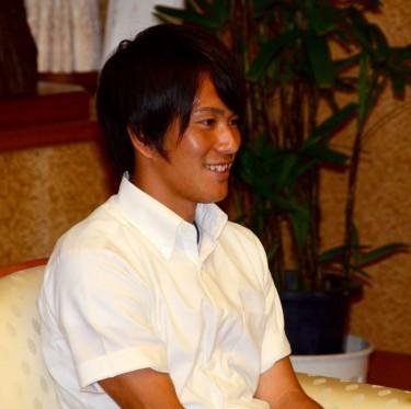 リオ五輪・サッカー日本代表 ファジアーノ岡山・矢島選手が倉敷市訪問 1-3