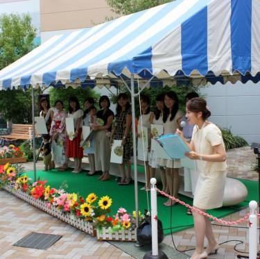 倉敷天領夏祭り 歴代小町トークショー 1-2