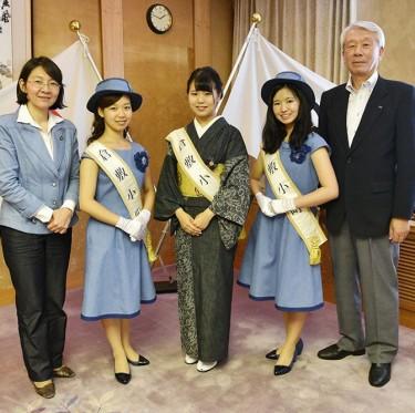 第34代 倉敷小町が倉敷市長を表敬訪問 2-4