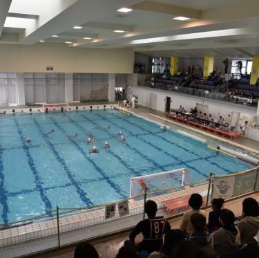 桃太郎カップ(全日本ユース(U15)水球競技選手権大会)開催中 2-2