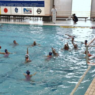 桃太郎カップ(全日本ユース(U15)水球競技選手権大会)開催中 1-3