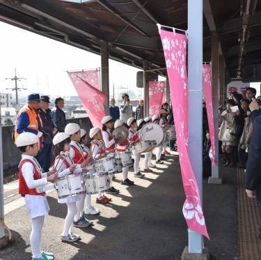倉敷雛めぐり2017 水島臨海鉄道 雛列車出発式 2-1