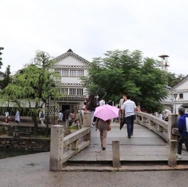雨模様の倉敷美観地区 2-2