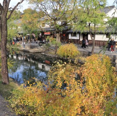 秋色に染まる倉敷美観地区。 1-3