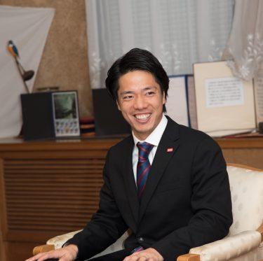 ファジアーノ岡山の選手が倉敷市役所を訪問 2-1