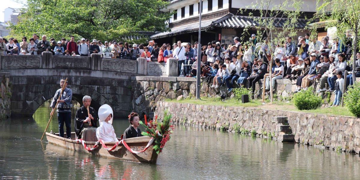 倉敷川の由来と水源