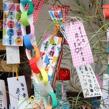 倉敷美観地区・七夕飾り 3-2