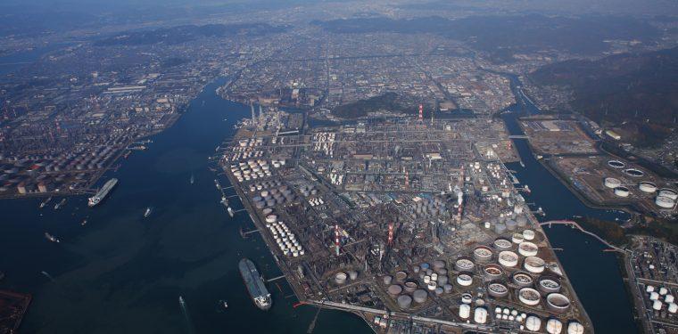 全国トップクラスの実力 水島臨海工業地帯