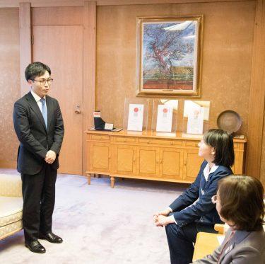 菅井竜也八段が倉敷市訪問 1-2